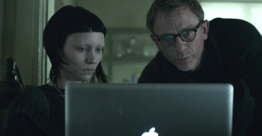 Rooney Mara Daniel Craig The Girl with the Dragon Tattoo