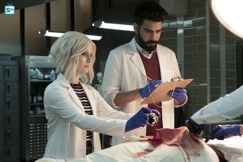 Rose McIver Rahul Kohli Heaven Just Got a Little Bit Smoother iZombie