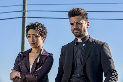 Ruth Negga Dominic Cooper Preacher Season Two