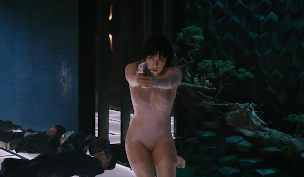 Scarlett Johansson Ghost in he Shell