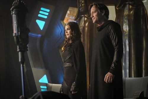 Teri Hatcher Kevin Sorbo Star-Crossed Supergirl