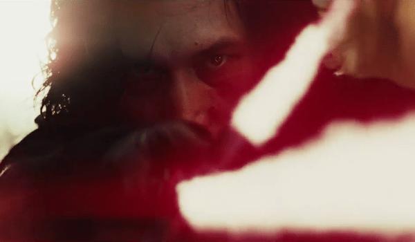 Adam Driver Lightsaber Star Wars: The Last Jedi