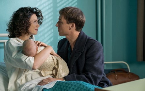 Caitriona Balfe Tobias Menzies Outlander: Season 3