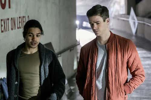 Carlos Valdés Grant Gustin The Once and Future Flash The Flash