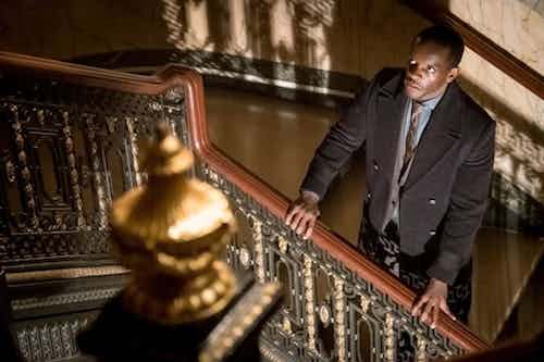 Chris Chalk How The Riddler Got HIs Name Gotham