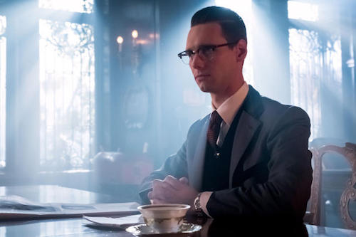 Cory Michael Smith How The Riddler Got HIs Name Gotham