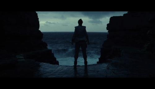 Daisy Ridley Planet Ahch-To Star Wars: The Last Jedi
