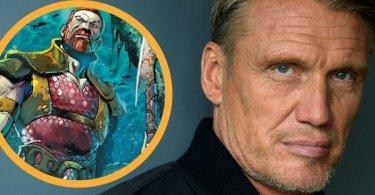 Dolph Lundgren King Nereus