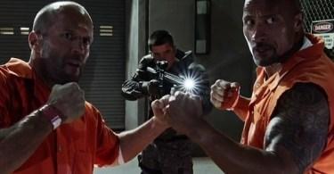 Jason Statham Dwayne Johnson The Fate of the Furious