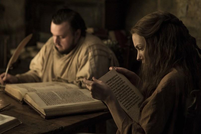 John Bradley West Hannah Murray Games of Thrones: Season 7