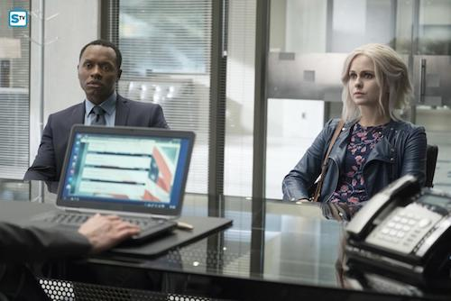 Malcolm Goodwin Rose McIver Zombie Knows Best iZombie
