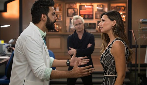 Rahul Kohli David Anders Aly Michalka Eat, Pray, Liv iZombie