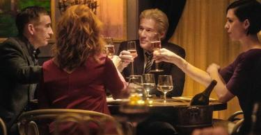Steve Coogan Laura Linney Richard Gere Rebecca Hall The Dinner