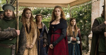 Suki Waterhouse Jodie Comer Essie Davis Rebecca Benson The White Princess In Bed with the Enemy