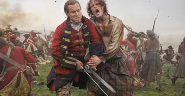 Tobias Menzies Sam Heughan Outlander Season 3