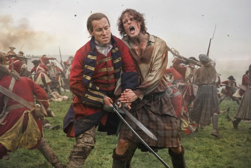 Tobias Menzies Sam Heughan Outlander: Season 3