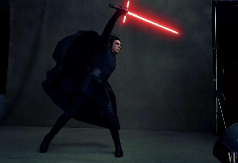Adam Driver Star Wars: The Last Jedi Vanity Fair