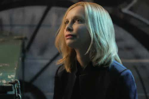 Calista Flockhart Resist Supergirl