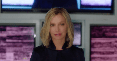 Calista Flockhart Resist Supergirl Trailer