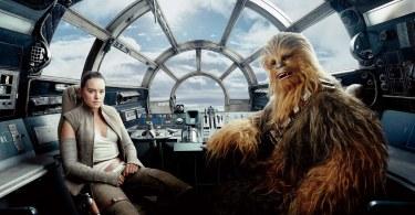 Daisy Ridley Peter Mayhew Star Wars: The Last Jedi Vanity Fair