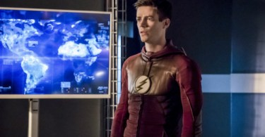 Grant Gustin Finish Line The Flash