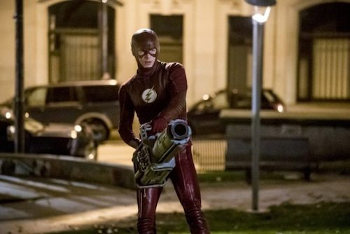 Grant Gustin Infantino Street The Flash