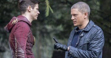 Grant Gustin Wentworth Miller Infantino Street The Flash