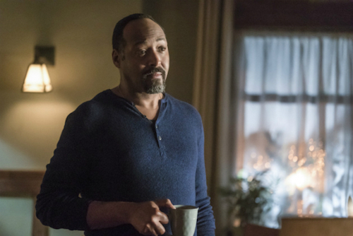 Jesse L. Martin Finish Line The Flash
