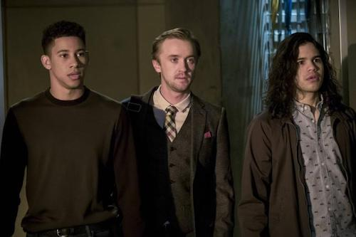 Keiynan Lonsdale Tom Felton Carlos Valdes Cause and Effect The Flash