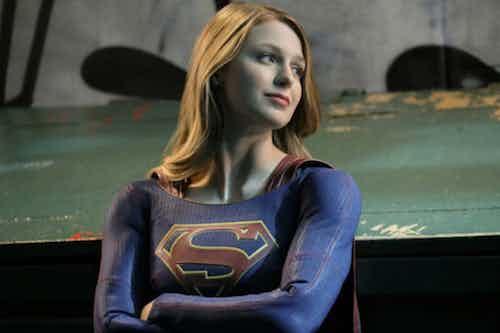 Melissa Benoist Resist Supergirl