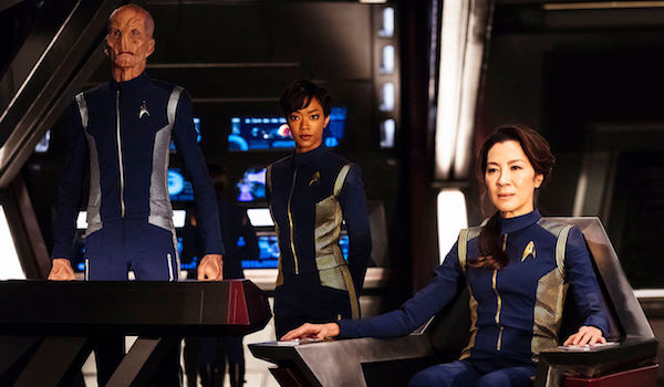 Michelle Yeoh Doug Jones Sonequa Martin-Green Star Trek: Discovery