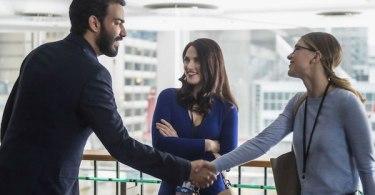 Rahul Kohli Katie McGrath Melissa Benoist Ace Reporter Supergirl