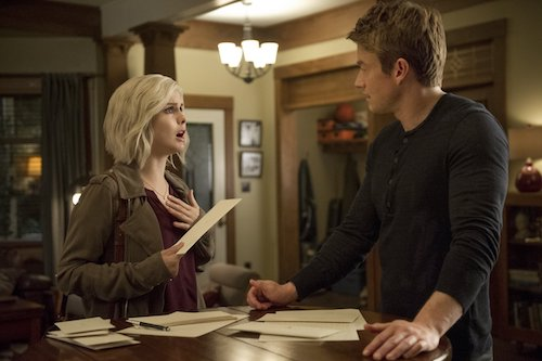 Rose McIver Robert Buckley Some Like It Hot Mess iZombie