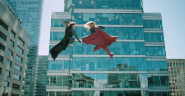 Teri Hatcher Melissa Benoist Nevertheless, She Persisted Supergirl Trailer