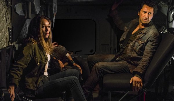 Alycia Debnam-Carey Cliff Curtis The New Frontier Fear The Walking Dead