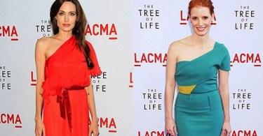 Angelina Jolie Jessica Chastain