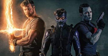 Derek Theler Michael Rowe Jason David Frank Ninjak Comic Book Cover