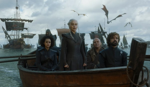 Nathalie Emmanuel Conleth Hill Peter Dinklage Emilia Clarke Games of Thrones: Season 7