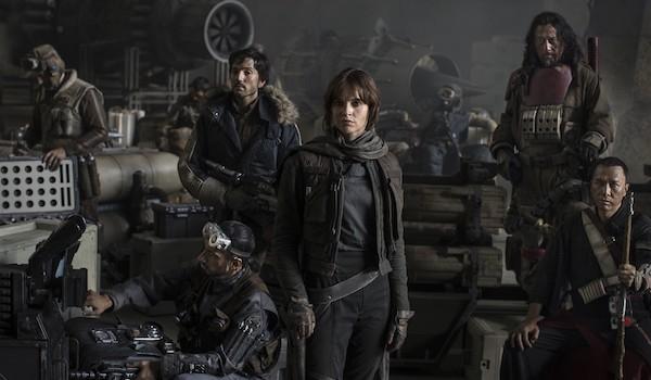 Riz Ahmed Diego Luna Felicity Jones Jiang Wen Donnie Yen Rogue One: A Star Wars Story