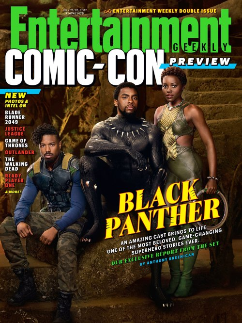 Black Panther Entertainment Weekly Cover July 21-28, 2017