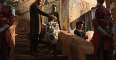 Chadwick Boseman Lupita Nyono Black Panther