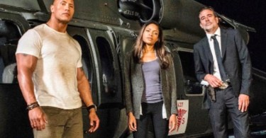 Dwayne Johnson Naomie Harris Jeffrey Dean Morgan Rampage