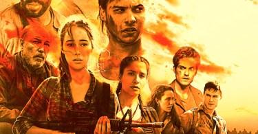 Fear The Walking Dead Season 3B Comic-Con TV show poster