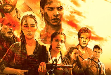 Fear The Walking Dead Season 3B Comic-Con TV show poster