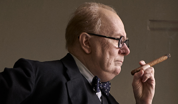 Gary Oldman is Winston Churchill in Darkest Hour trailer