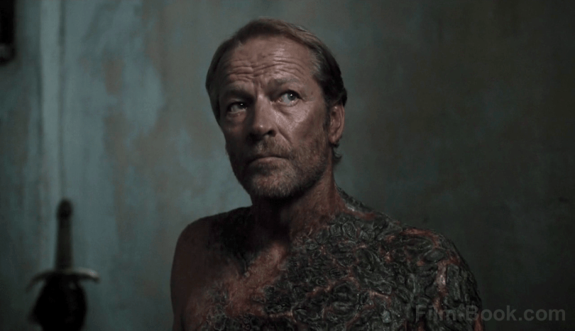 Iain Glen Greyscale Game of Thrones Stormborn