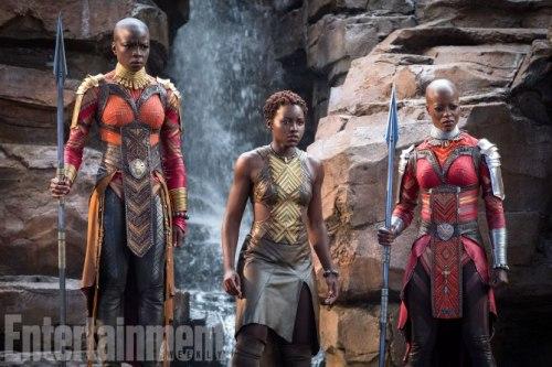 Lupita Nyong'o Danai Gurira Florence Kasumba Black Panther