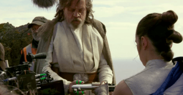 Mark Hamill Daisy Ridley Star Wars: The Last Jedi
