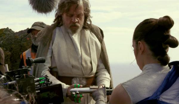 Mark Hamill Daisy Ridley Star Wars: The Last Jedi
