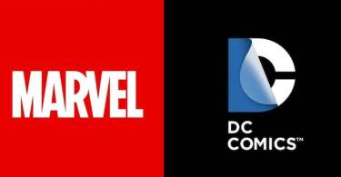 Marvel Logo DC Comics Logo